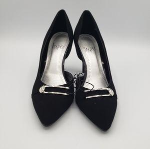 Impo Topanga black pointed toe pumps heels shoes